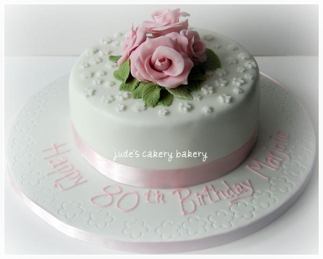 11 80th Birthday Cakes Buttercream Photo Cat Tree 80th Birthday
