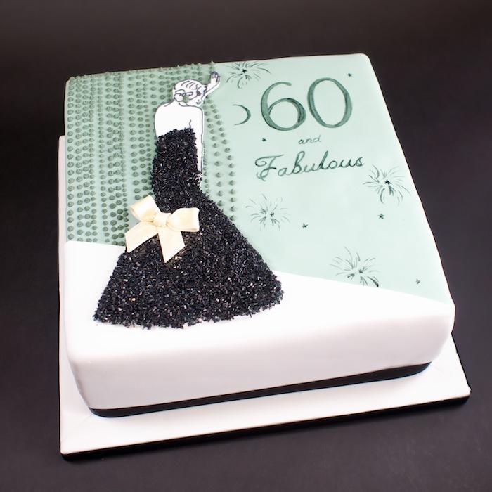 Fabulous 60th Birthday Cake