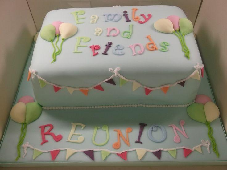 11 Family Reunion Cakes Decorated Photo Family Reunion Cake Ideas