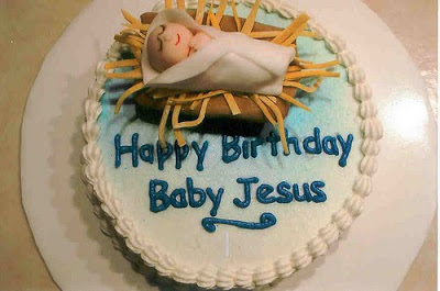 Pleasant 11 Jesus Birthday Cakes For Christmas Photo Happy Birthday Baby Funny Birthday Cards Online Alyptdamsfinfo