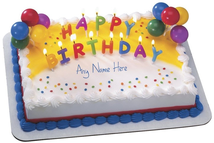 10 Birthday Cakes The Name Raelynn Photo Happy Birthday Cake With