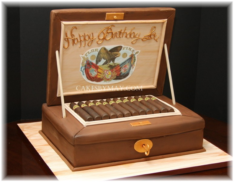 11 Cigar Specialty Cakes Photo - Cuban Cigar Birthday Cake, Cigar ...