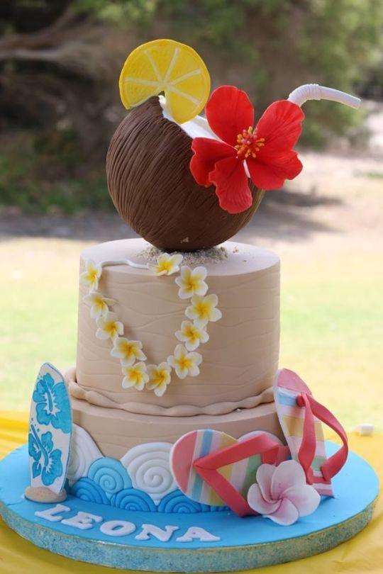 10 Football Birthday Cakes Hawaii Photo