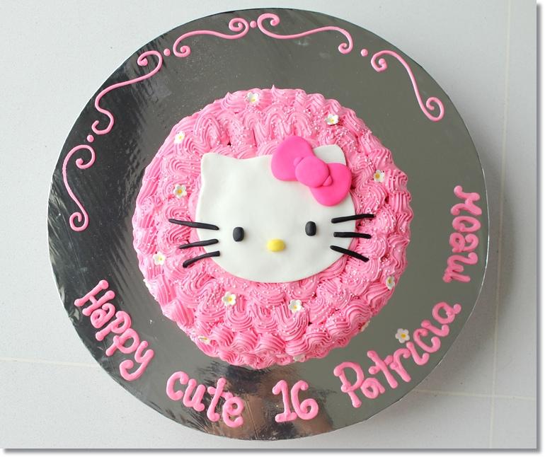 11 Easy Hello Kitty Cakes Photo Simple Hello Kitty Cake Simple