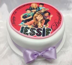 11 Disney Jessie Cakes Photo Jessie Birthday Cake Disney Channel