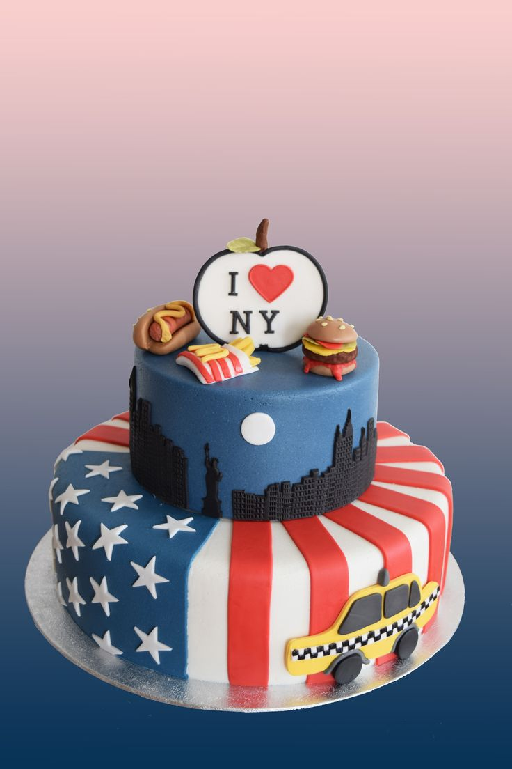 taart new york 12 Graduation Cakes New York Photo   New York City Cake  taart new york
