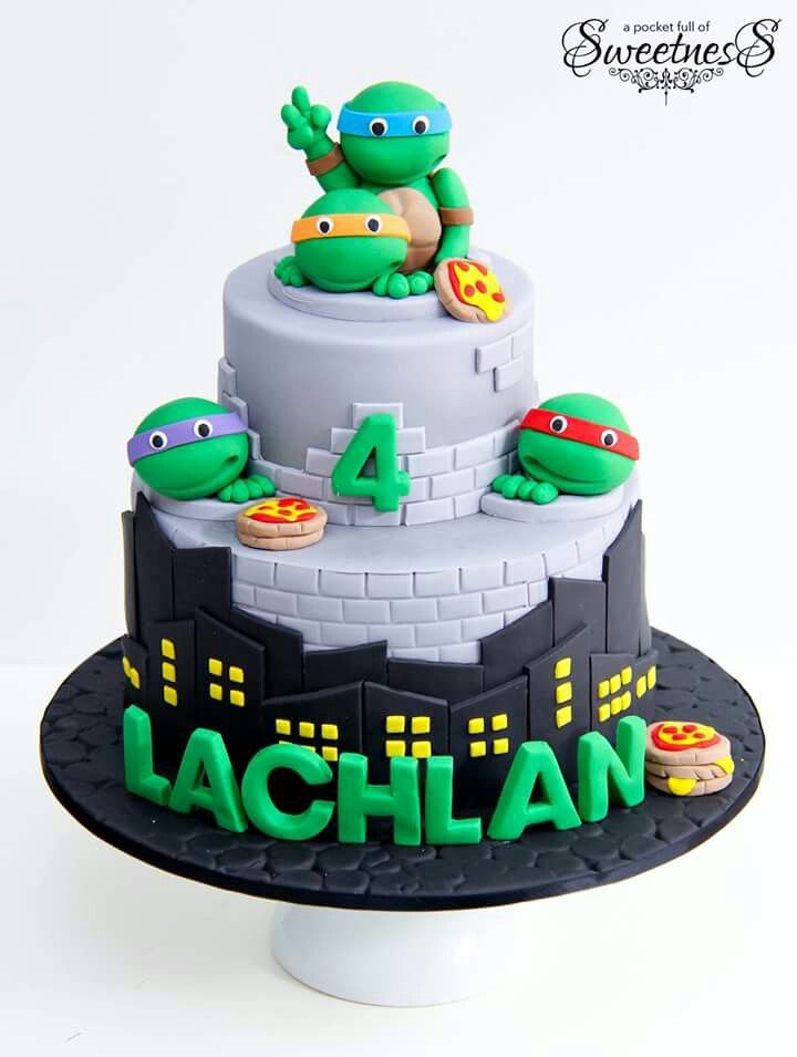 9 Turtle Birthday Cakes For Dinner Photo Sea Turtle Cake Topper
