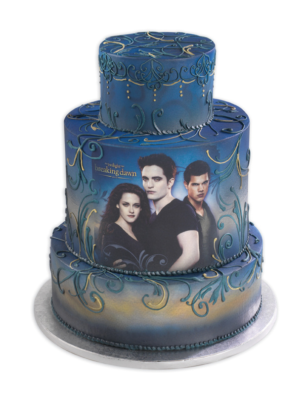 11 Twilight Saga Breaking Dawn Bday Cakes Photo Twilight Breaking