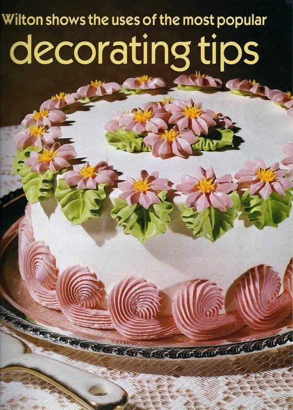 9 Wilton Decorating Cakes Book Photo Wilton Wedding Cake