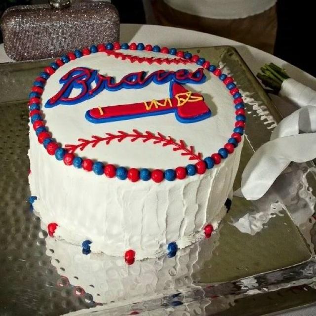 10 Cool Atlanta Braves Grooms Cakes Photo
