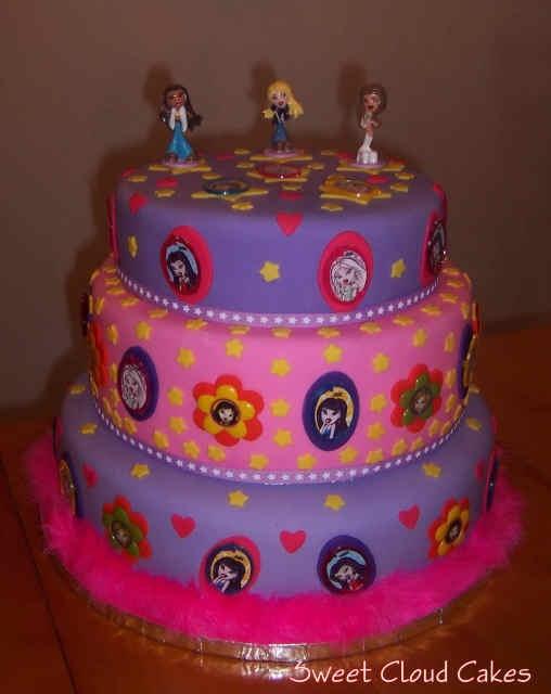 Admirable 9 Bratz Birthday Cakes Publix Photo Publix Birthday Cakes Bratz Personalised Birthday Cards Akebfashionlily Jamesorg