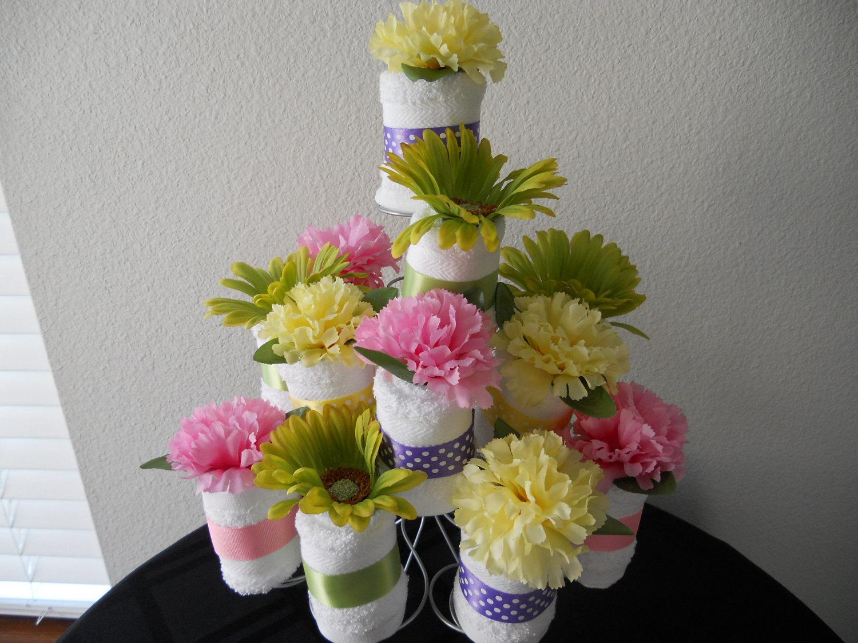 bridal shower cupcake centerpiece