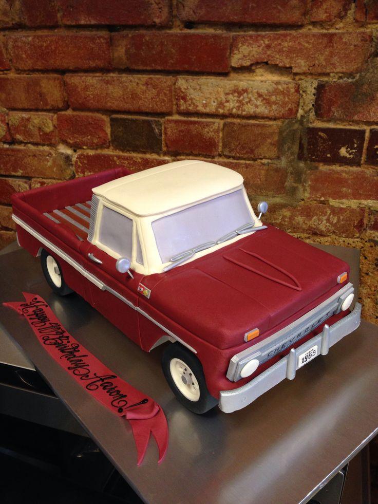 12 71 Chevy Trucks Cakes Photo Chevy Truck Birthday Cake Chevy