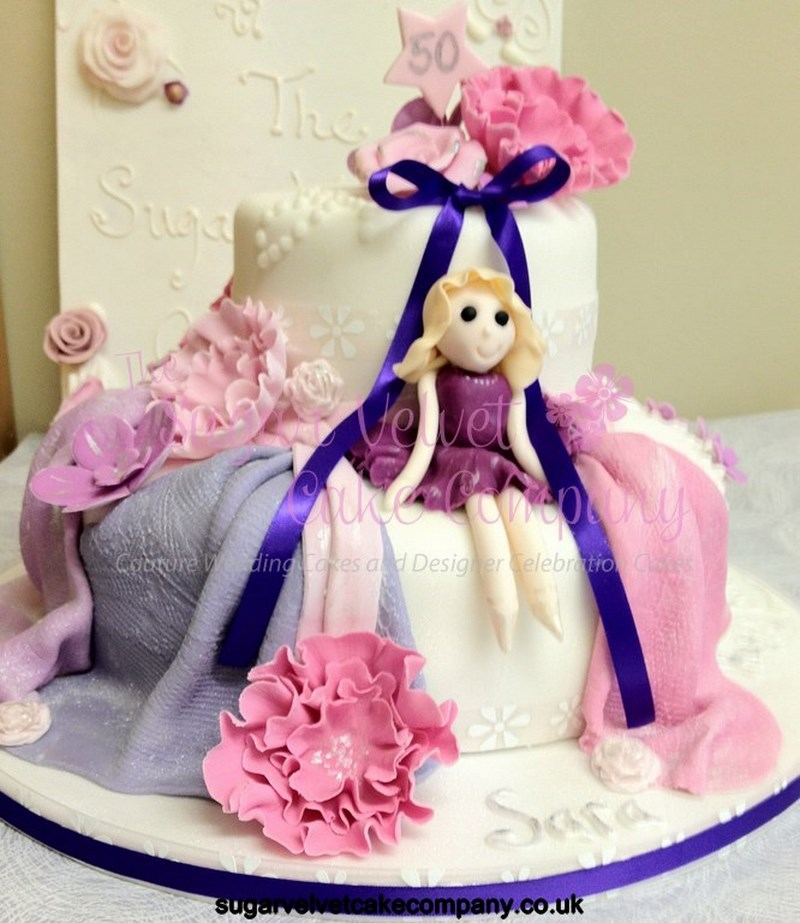 Female 50th Birthday Cakes