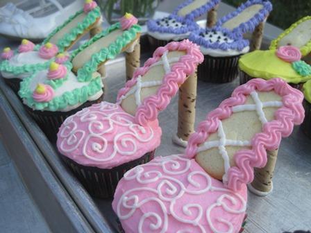 Girls Cupcake Cake Ideas