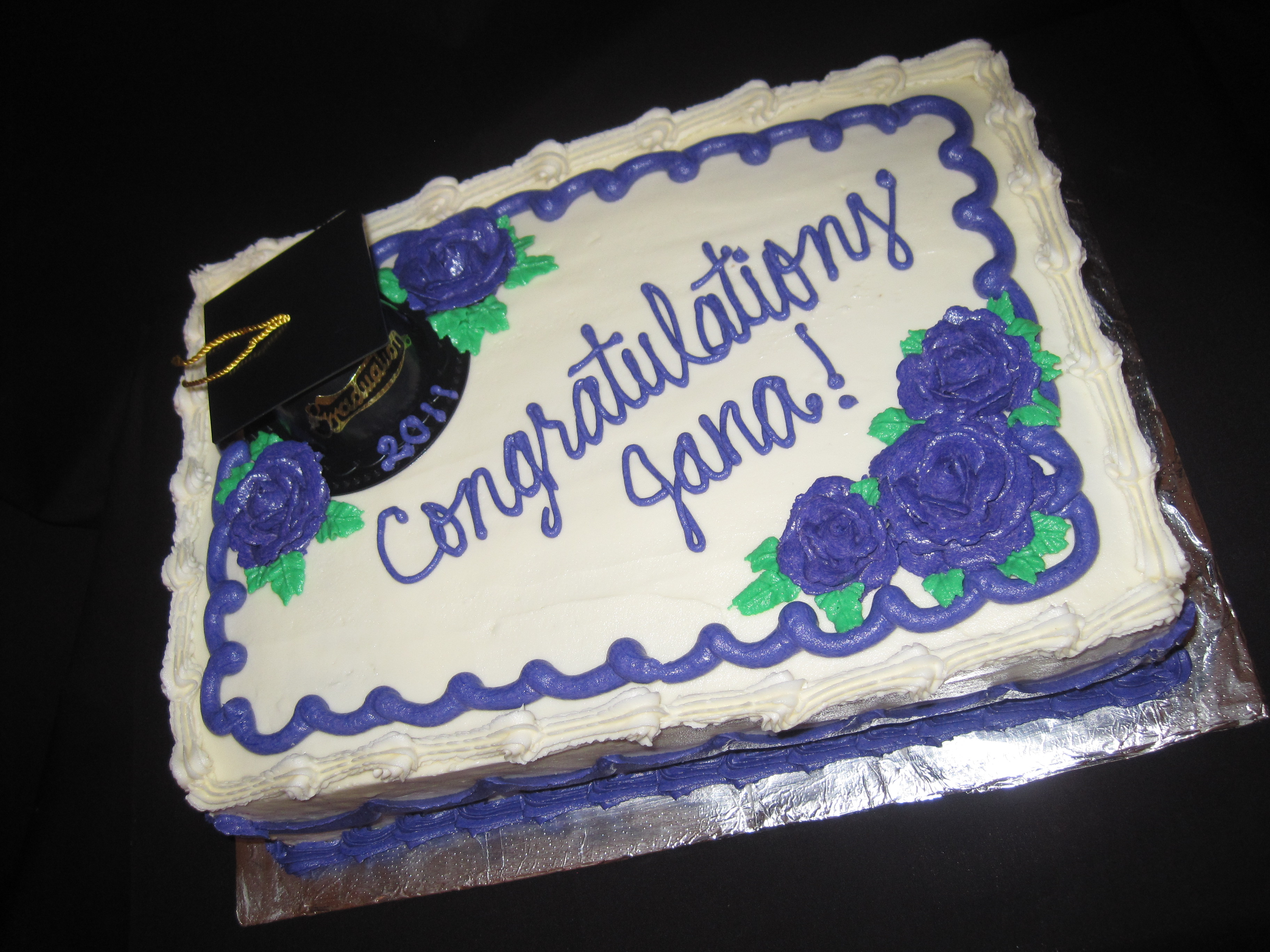 Graduation Sheet Cake Via Food Lion Birthday Designs
