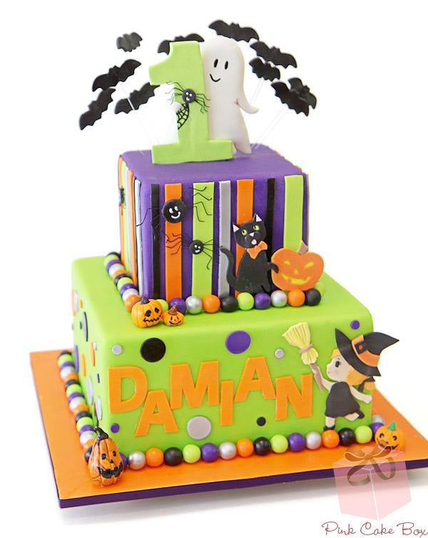 Superb 8 Girls 1St Birthday Halloween Cakes Photo Halloween First Funny Birthday Cards Online Fluifree Goldxyz
