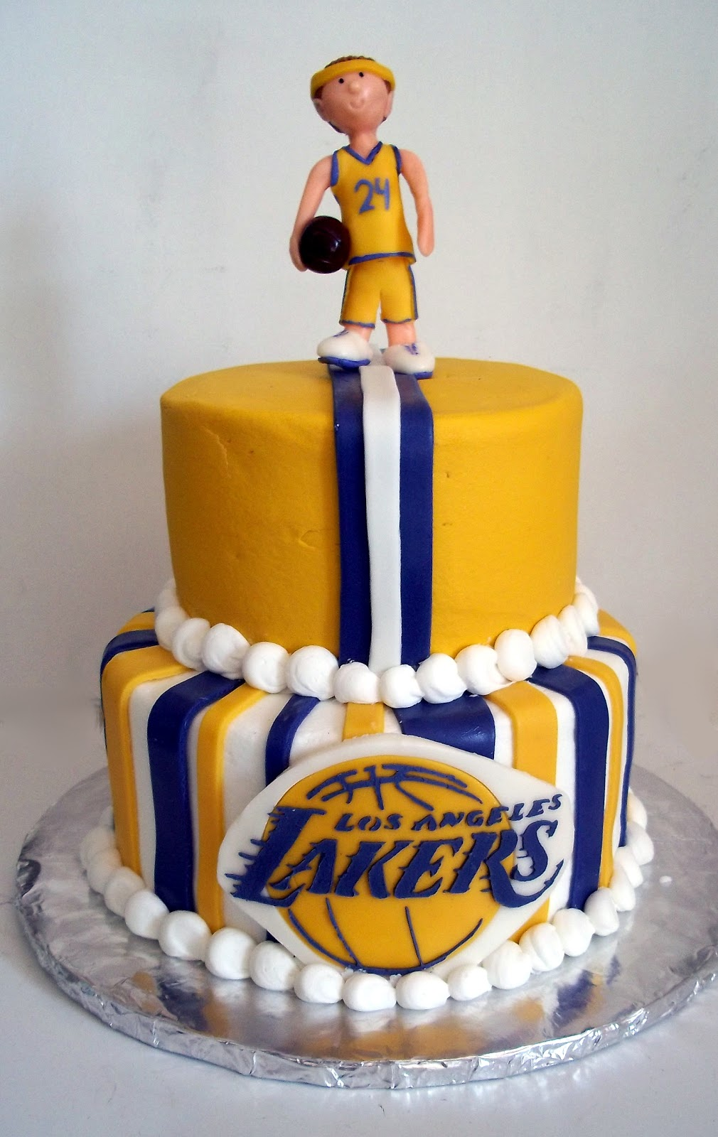 Groovy 8 Lakers Bday Cakes Photo Lakers Birthday Party Cakes Lakers Funny Birthday Cards Online Sheoxdamsfinfo
