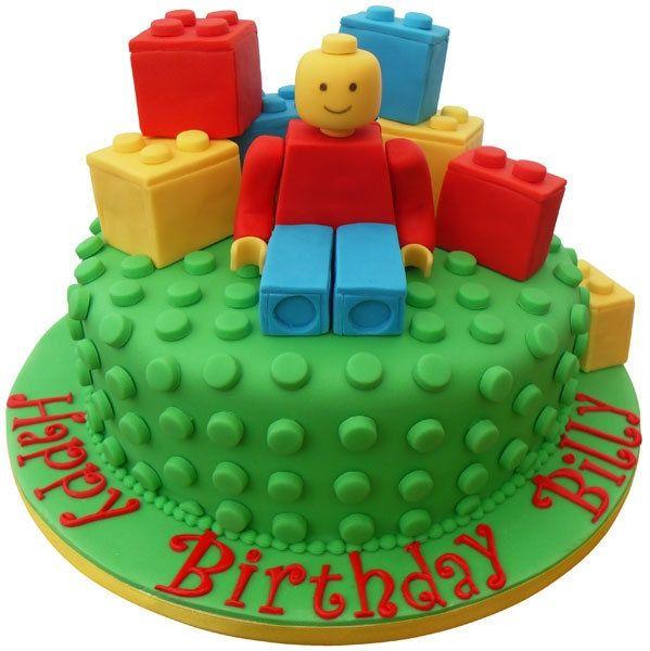 Peachy 11 Lego Birthday Cakes For Boys Photo Lego Birthday Cake Boys Personalised Birthday Cards Cominlily Jamesorg