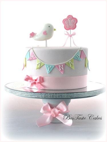 Little Bird Birthday Cake
