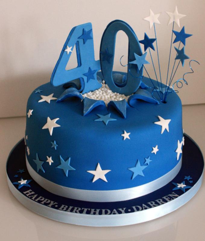 Strange 13 Birthday Cakes For 40Th Birthday Man Photo Men 40Th Birthday Personalised Birthday Cards Veneteletsinfo