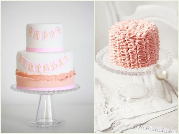 Pretty Birthday Cakes On Pinterest