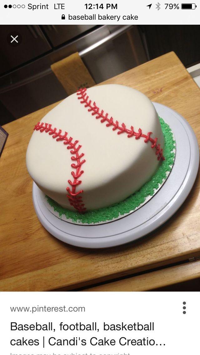 Publix Baseball Cake Via My Little Pony