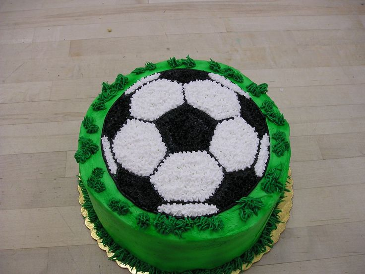 Incredible 10 Flat Soccer Ball Cakes Photo Soccer Birthday Cake Ideas Funny Birthday Cards Online Overcheapnameinfo