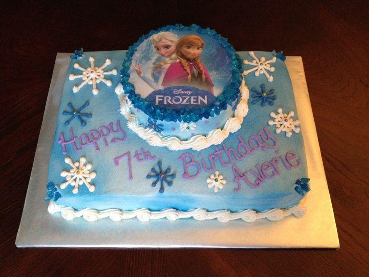 Anna And Elsa Disney Frozen Cake