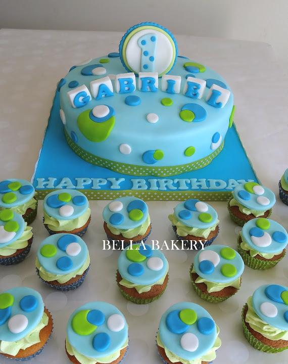 9 First Birthday Cupcakes For Boys Photo Boy 1st Birthday Cupcake