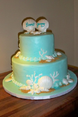 couples wedding shower cakes