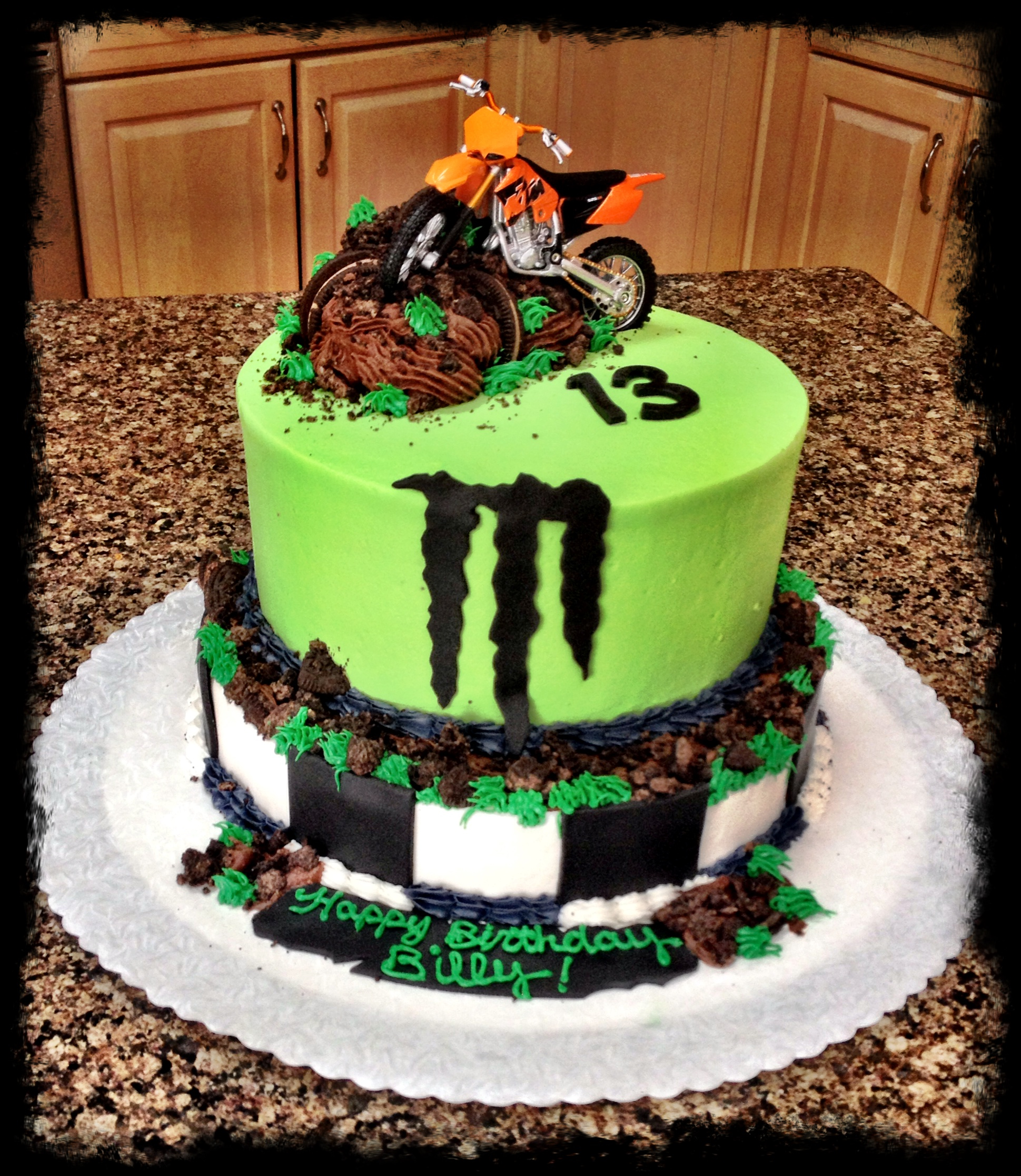 Miraculous 10 Cool Motocross Birthday Cakes Photo Dirt Bike Cake Motocross Funny Birthday Cards Online Alyptdamsfinfo