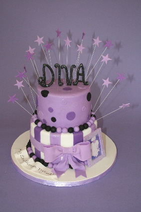 Marvelous 7 Sweet 15 And 16 Birthday Cakes Diva Photo Sweet 16 Birthday Funny Birthday Cards Online Alyptdamsfinfo