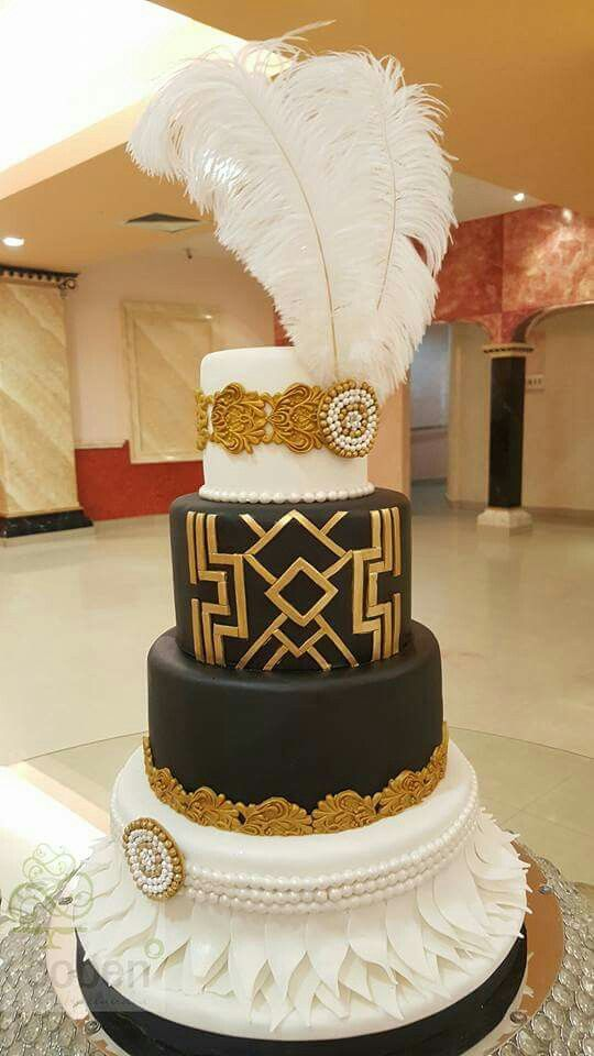 12 Grand Gatsby Cakes Photo Great Gatsby Birthday Cake Ideas