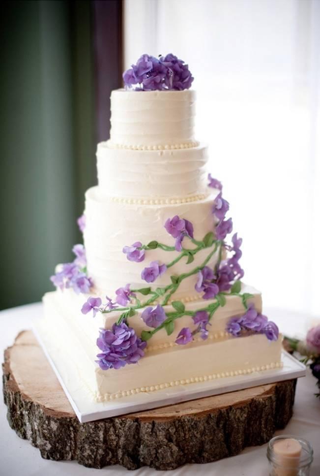 11 Green And Purple Wedding Cakes Photo - Green and Purple Wedding ...