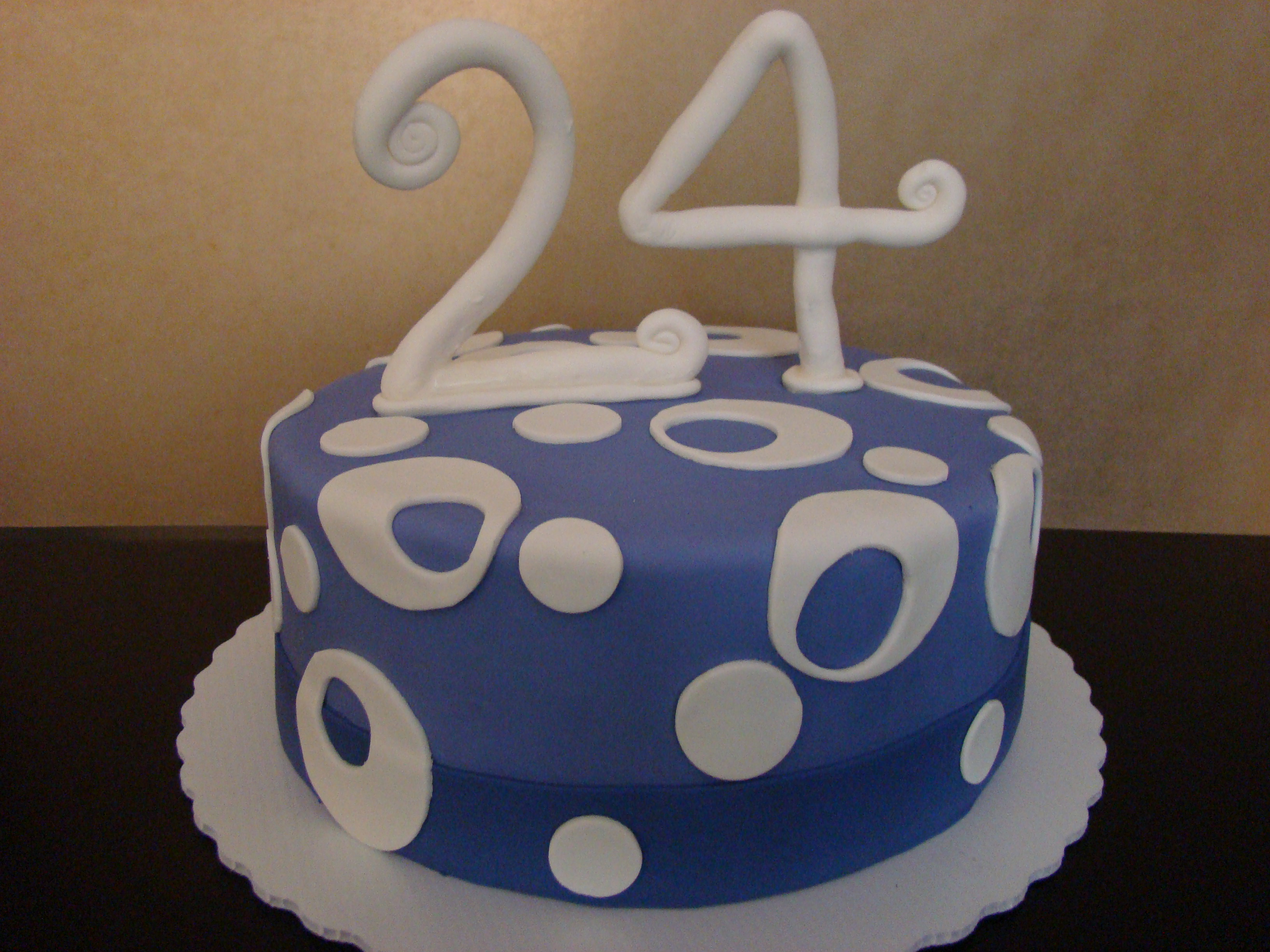 10 24 Birthday Cakes For Your Birthday Photo 24 Birthday Cake With