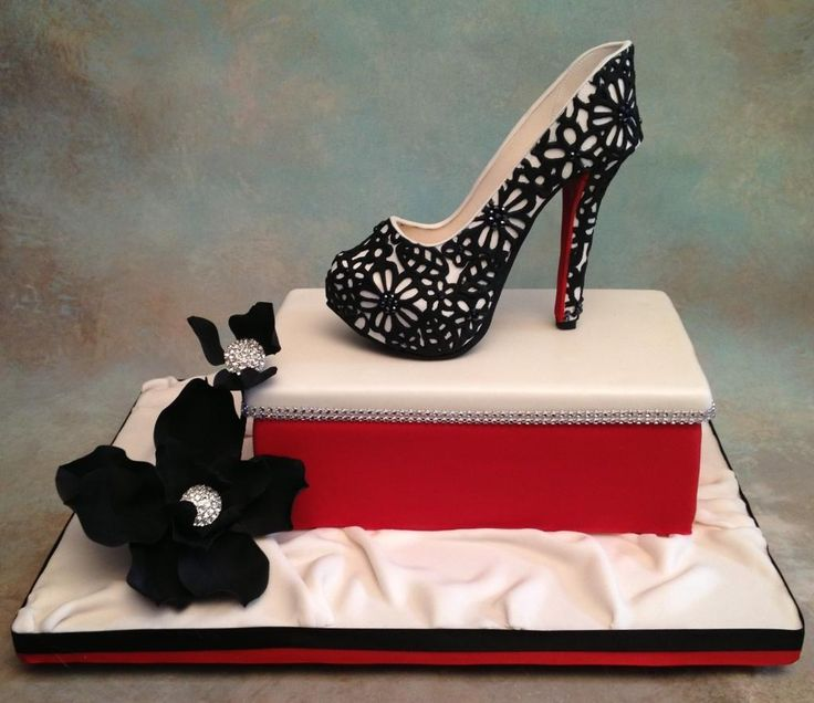 12 High Heel Shoe Cakes That Look Like Photo - Leopard Print High ...