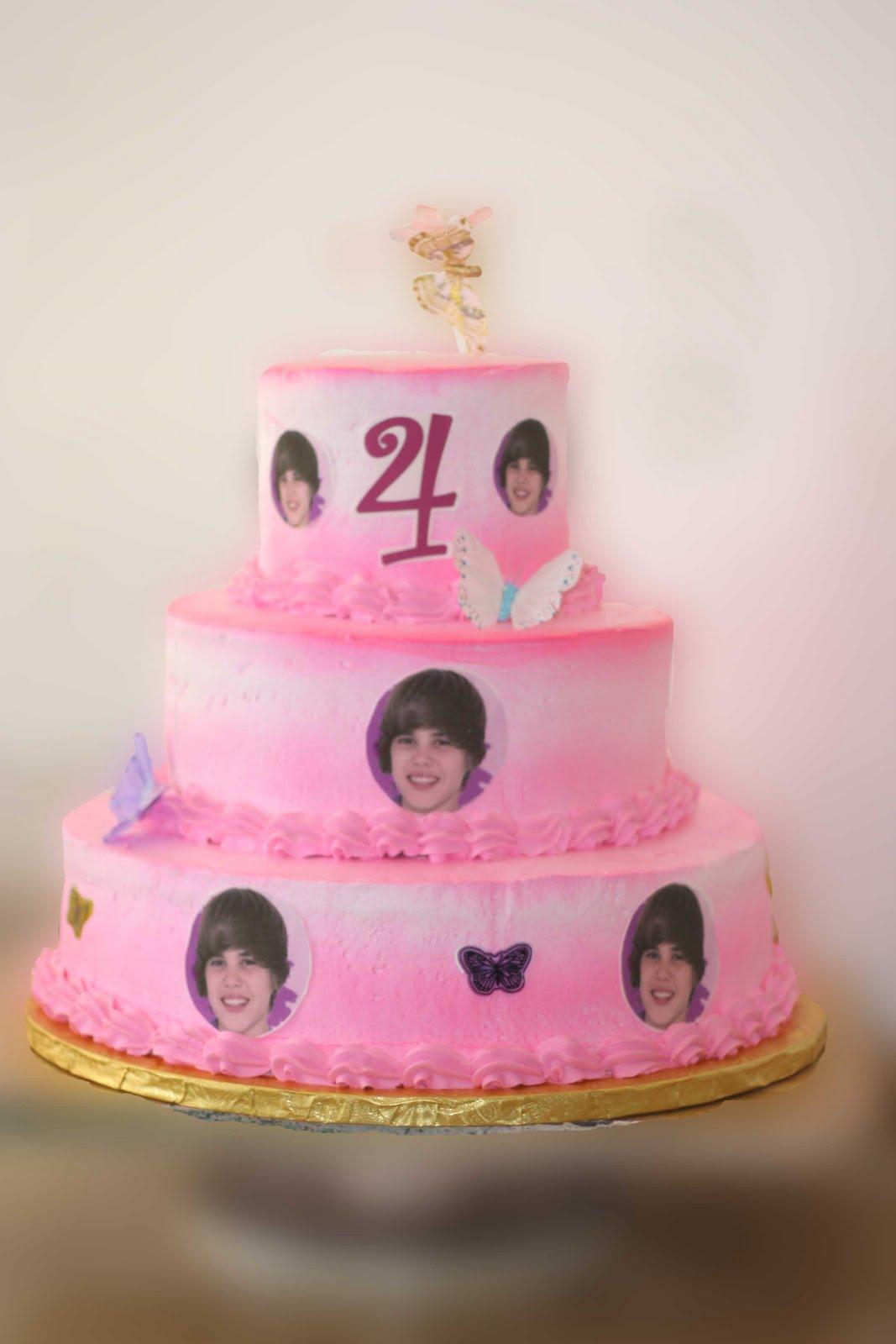 9 Order Justin Bieber Cakes Photo Justin Bieber Birthday Cake