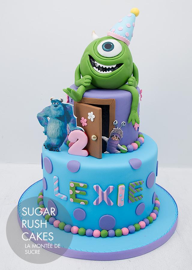 Swell 11 Best Monsters University Cakes Photo Monsters University Cake Personalised Birthday Cards Epsylily Jamesorg