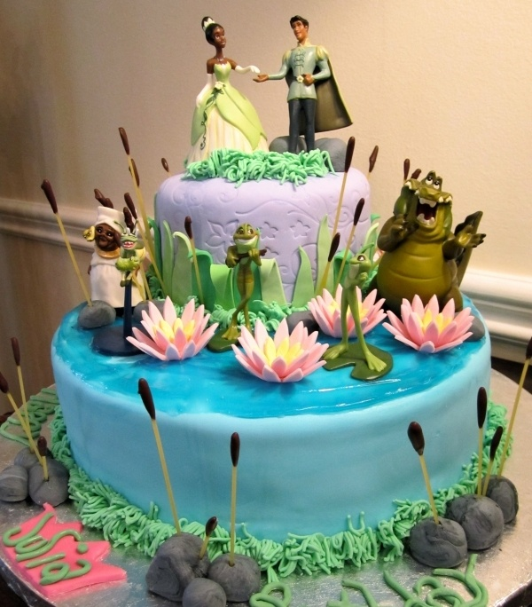 7 The Princess And Frog Cakes And Parties Photo Princess Tiana