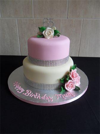 Tremendous 9 Vons 2 Tier Cakes Photo 2 Tier Buttercream Birthday Cakes 2 Personalised Birthday Cards Petedlily Jamesorg