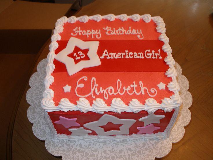 Astonishing 9 American Doll Themed Cakes Photo American Girl Doll Birthday Personalised Birthday Cards Petedlily Jamesorg