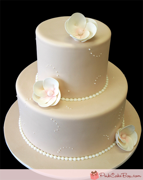 two tier round simple wedding cakes 11 simple wedding cakes for anniversary photo 21346