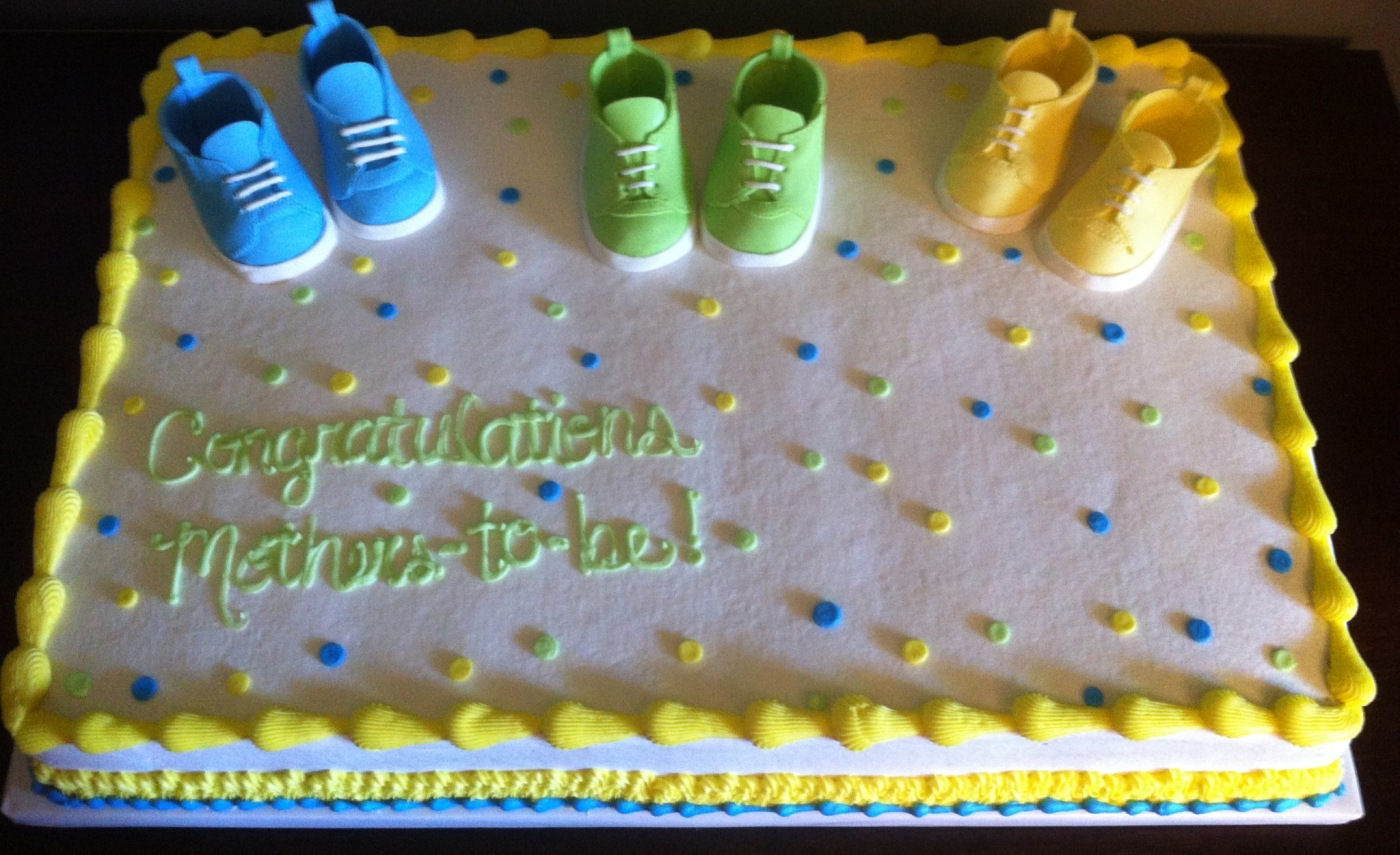 BJ's Wholesale Baby Shower Cake