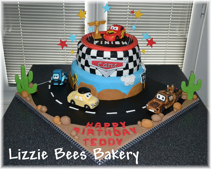 12 Disney Cars Birthday Cupcakes Photo Disney Pixar Cars Birthday
