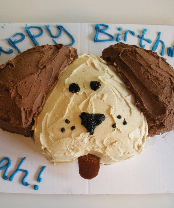 Easy Dog Birthday Cake