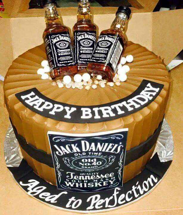 Cool 12 Jack Daniels Birthday Cakes For Guys Photo Jack Daniels Funny Birthday Cards Online Hendilapandamsfinfo