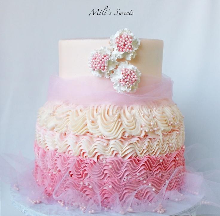 Prime 11 Pretty Birthday Cakes On Pinterest Photo Beautiful 50Th Personalised Birthday Cards Bromeletsinfo