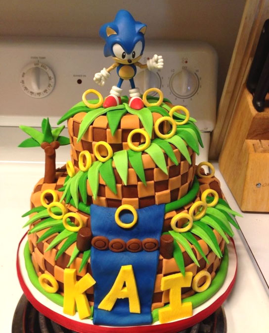 13 12 Year Olds For Birthday Cakes Sonic The Hegehog Photo Sonic