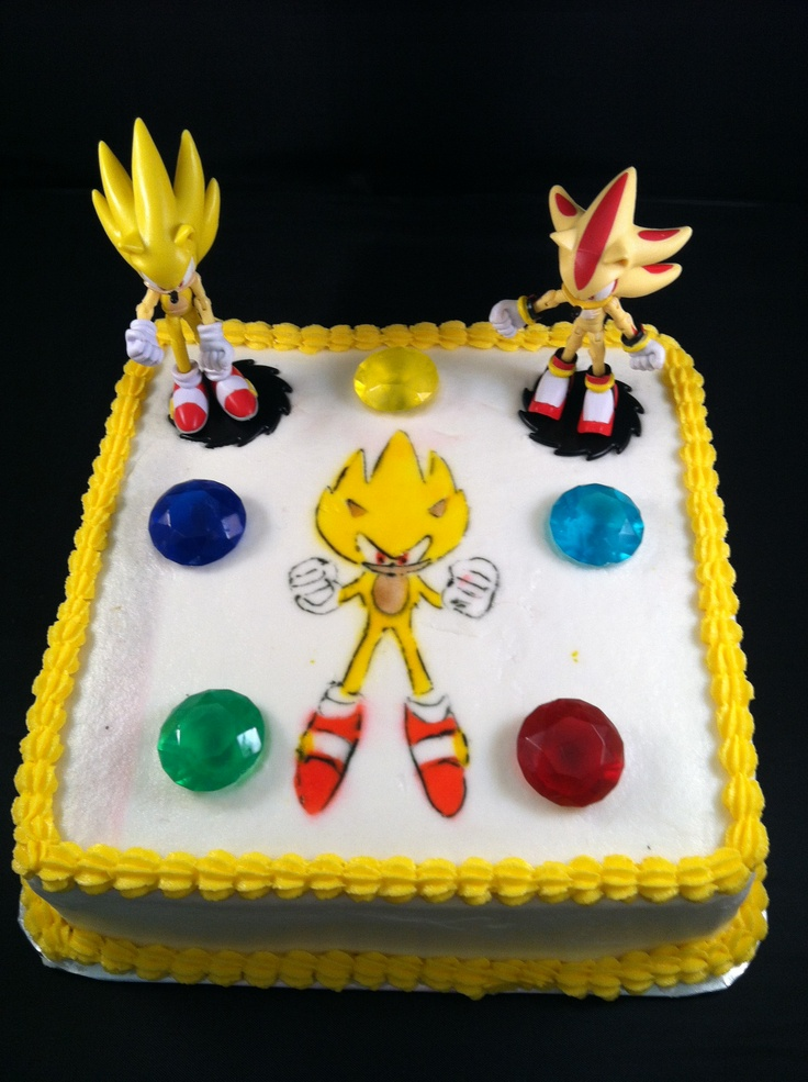 Incredible 13 12 Year Olds For Birthday Cakes Sonic The Hegehog Photo Sonic Funny Birthday Cards Online Alyptdamsfinfo